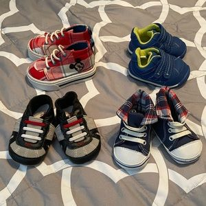4 Pairs of Infant Shoe Bundle